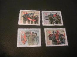 K9729- Sets MNH DDR -1988-1990 SC. 2684-2687-  28069-2807-  Worker's Militia  And Museum Berlin - Ungebraucht
