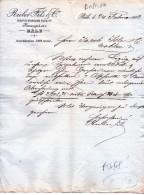 RIEBER & FILS & C.-BANQUIERS-BASILEA-24-2 -1882 - Schweiz