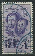 Italia 1944 RSI Usato - Fratelli Bandiera £ 1 - 4. 1944-45 Repubblica Sociale