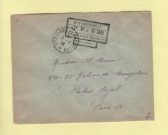 Griffe Provisoire - St Pierre Et Miquelon - 2-7-1926 - PP 0.30 - Non Classificati