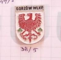 GORZOW Wielkopolski (Landsberg An Der Warthe) Poland / Coat Of Arms Blazon Armoiries Blazon Emblème Ecusson Shield - Städte