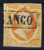 Netherlands: 1852 NVPH Nr 3 Used - Periode 1852-1890 (Willem III)