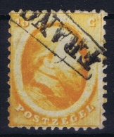 Netherlands: 1864 NVPH Nr 6 Used - Periode 1852-1890 (Willem III)