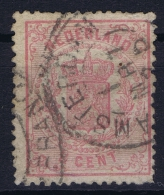 Netherlands: 1869 NVPH Nr  16 Used - Periode 1852-1890 (Willem III)