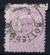 Netherlands: 1869 NVPH Nr  18 Used - Periode 1852-1890 (Willem III)