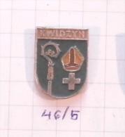 KWIDZYN (Marienwerder) Poland /  Coat Of Arms Blazon Armoiries Blazon Emblème Ecusson Shield Voivodeship - Städte