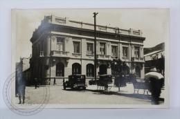 Real Photo Postcard - Bolivia - Central Bank Of Bolivia - Banco Central De La Nacion Boliviana - Old Cars - Bolivia