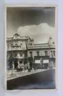 Old & Rare Real Photo Postcard - Bolivia - Palais Concert De Oruro - Esthend Atlantida - Old Truck & People - Un - Bolivia