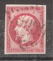 Empire n� 17 B, 80 c , obl GC 5099, Bureau fran�ais de SULINA, Turquie, INDICE 36, SUPERBE, RARE