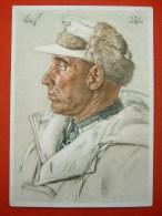 """Propaganda Willrichkarte """"Oberst Karl Löwrick - Kommandeur Eines Grenadierregiments"""" Von Deutsches Reich - Allemagne"""