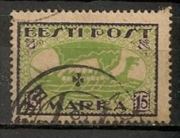 Timbres - Estonie - 1920 - 15 Marka - - Estonie