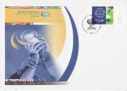 GERMANY 2006 FOOTBALL WORLD CUP GERMANY COVER WITH POSTMARK - Wereldkampioenschap