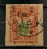 Timbres - Estonie - 1920 - 10 Pen. - - Estonie