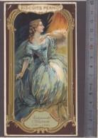 Chromo - Biscuits Pernot - Artiste Theatre Mademoiselle Clairon (1723-1803) - Art Nouveau -  Voir état - Pernot