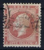 Norway: Yv Nr 5 1856 Used - Gebruikt
