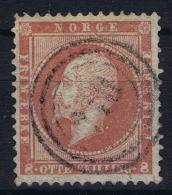 Norway: Yv Nr 5 1856 Used