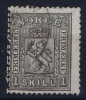 Norway: Yv Nr 11 1867 Used - Gebruikt