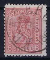 Norway: Yv Nr 15  Mi Nr 15 1867 Used - Gebruikt