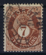 Norway: Yv Nr 21  Mi Nr 21 1872 Used - Usati