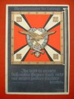 """Farbige Propagandakarte """"Oberbefehlshaber Der Luftwaffe, Die Siegreichen Fahnen Nr.4"""" Von Deutsches Reich, Ungebraucht - Allemagne"""