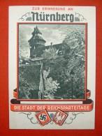 """Farbige Propagandakarte """"Zur Erinnerung An Nürnberg"""" Von Deutsches Reich, Ungelaufen - Allemagne"""