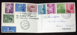 Mauritus Maurice (  Timbres / Stamps Oblitérés ) Cachet Cyclone Carol - Mauritius (...-1967)