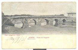 Rimini Ponte Di Augusto Spedita Nel 1908 - Rimini