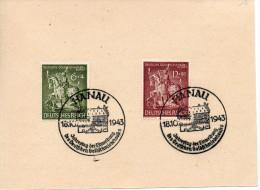 ALLEMAGNE  Statut De St Georges 1943  N°779-80 - Duitsland