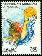 ITALIA, ITALY, ITALIEN, SPORT, CAMPIONATI MONDIALI NUOTO, 1994, USATO, Mi:IT 2329, Sn:IT 1982, Yt:IT 2062, Sg:IT 2254 - 6. 1946-.. Repubblica