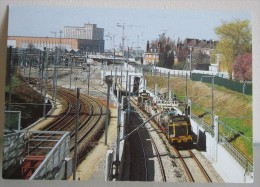 162.CPA 59 – LILLE : Travaux Gare TGV Nord - Lille