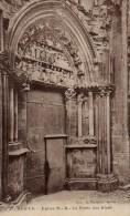 SEMUR EGLISE N.D LA PORTE DES BLEDS ( LOT P12 ) - Eglises Et Cathédrales