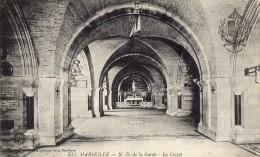 MARSEILLE N.D. DE LA GARDE LA CRYPTE ( LOT P12 ) - Eglises Et Cathédrales