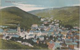 AK Erzgebirge Graslitz Kraslice Bei Sokolov Falkenau Klingenthal Hranicna Markhausen Stempel Meinel Schöneck Haselmühle - Sudeten