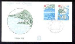1986 MONACO EUROPA CEPT FDC - FDC