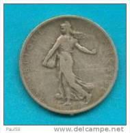 2 FRANCS  SEMEUSE ARGENT DE 1901 TB