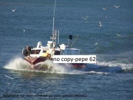 boulogne sur mer-rentr�e au port-- photo