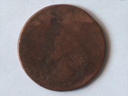 Grande-Bretagne 1 Farthing 1774 GEORGUS III REX - 1662-1816 : Antiche Coniature Fine XVII° - Inizio XIX° S.