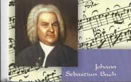 Telefoonkaart.- Duitsland. Telefonkarte 12 DM. Johann Sebastian Bach. 21.3.1685 In Eisenach - 28.6.1750 In Leipzig - Duitsland