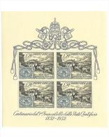 Vatican    Michel   Block   1              **        MN H  /  Postfris  /  Postfrisch  /  Neuf  ** - Blokken & Velletjes