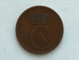DANEMARK 5 ORE 1875 - Danemark