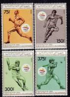 Comores N° 499 / 02 XX  Jeux Olympique D'été 1992 à Barcelone  Les 4 Valeurs Sans Charnière TB - Comores (1975-...)
