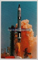 NASA, John F. Kennedy Space Center, Gemini-Titan 4 That Launched McDivitt And White Frome Cape Kennedy, Unused - Astronomia