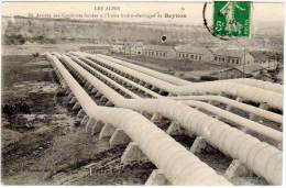 Arrivée Des Conduites Forcées à L'Usine Hydro-électrique De Beynon (Fournier édit.) - France