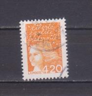 FRANCE / 1997 / Y&T N° 3094 : Luquet 4F20 Orange Foncé (avec PHO) - Choisi - Cachet Rond - France