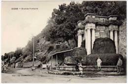 Digne - Grande Fontaine - Digne