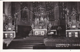 Luxemburgo--1955--Catredrale, Aut El De N.D. - Luxemburgo - Ciudad