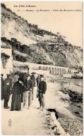 Menton - La Frontière - Visite Des Douaniers Italiens (édit. Royer) - Menton