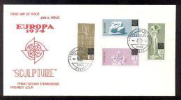 1974 MALTA EUROPA CEPT FDC - Malta