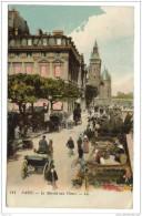Cpa Paris Marché Aux Fleurs Editions L.L - Mercati