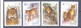 2000. Belarus, WWF, Lynx, 4v, Mint/** - Bielorussia
